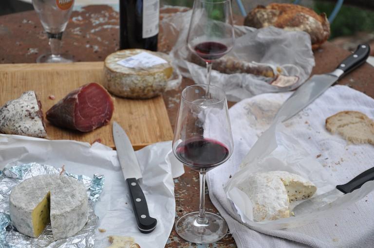 Wine & Cheese/ ©Pixabay