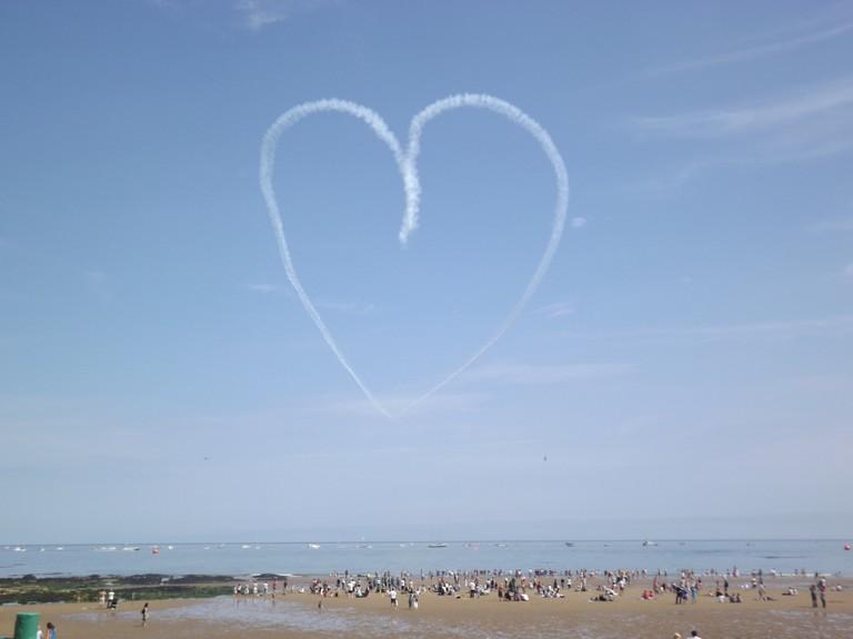 Seaburn Beach, International Air Festival | ©Liam Swinney/Flickr