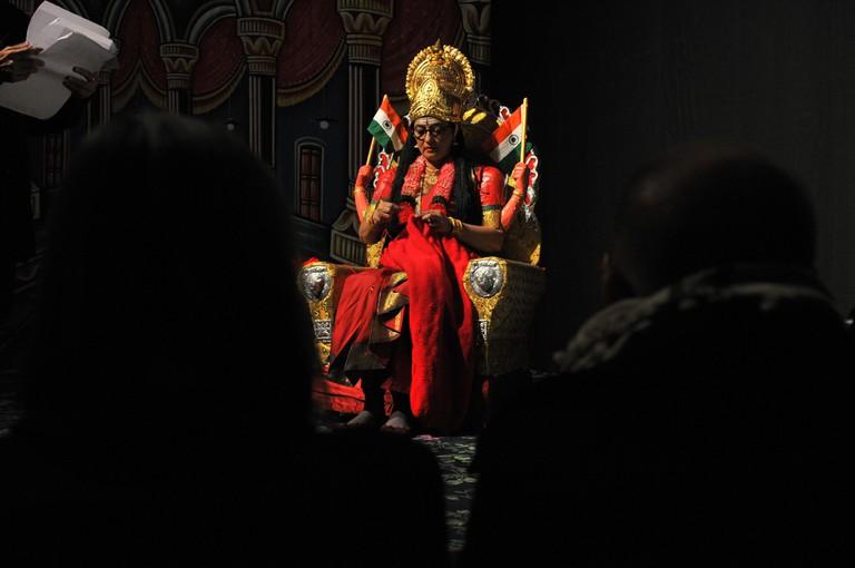 Pushpamala N. | © Shiv Ahuja/WikiCommons