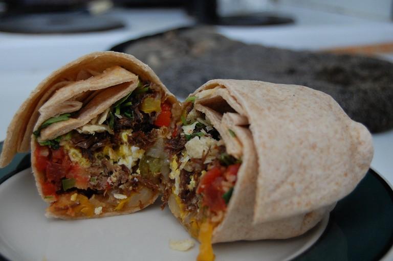 A Breakfast Burrito |© stu_spivack/Flickr