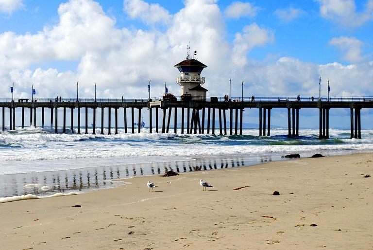 Huntington Beach Pier   ©Joe Wolf/Flickr