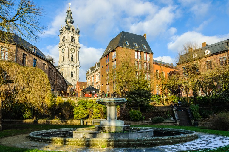 Bell tower in Mons, the European Capital of Culture 2015, Belgium| ©Gabor Kovacs Photography/Shutterstock