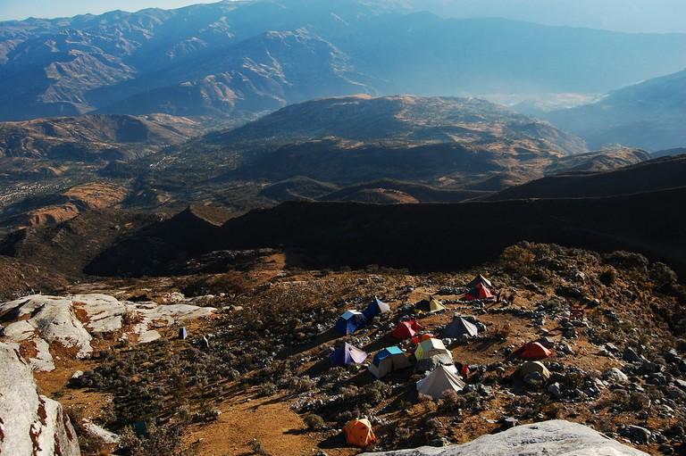 Camp. base huascarán a 4.200 m. aprox | © Cristian Ordenes / Flickr