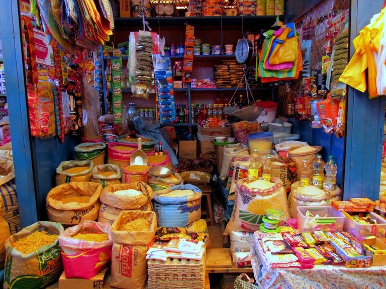 Peru Food Market | © bobistravelling/Flickr