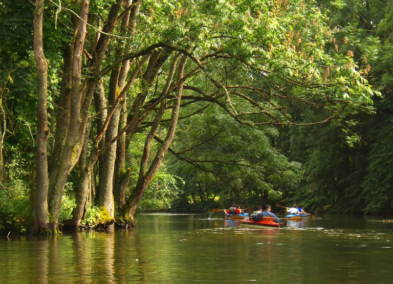 Kayaking on the Krutynia river, Poland © Puchan / Shutterstock