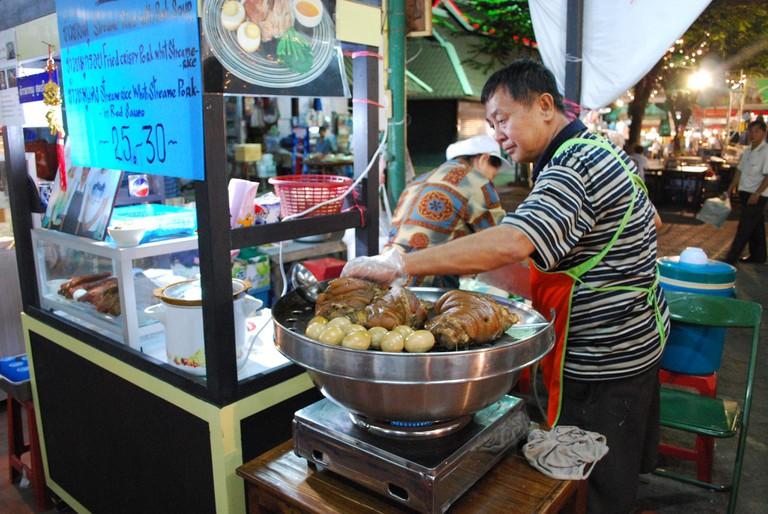Thai Pork Leg and Eggs   © Alpha/Flickr