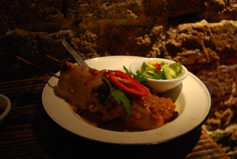 Thai Pork Skewers   © Alpha / Flickr