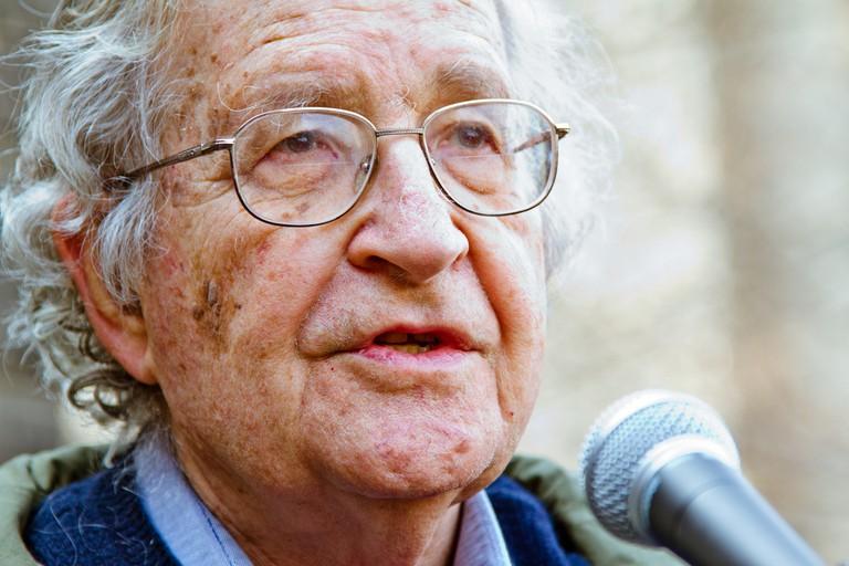 Noam Chomsky | © Andrew Rusk/Flickr