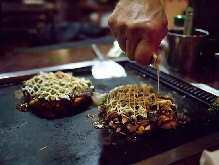 Okonomiyaki |© Hajime Nagahata/Flickr