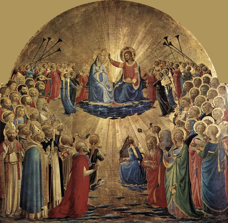 Fra Angelico, The Coronation of the Virgin | ©WikiCommons