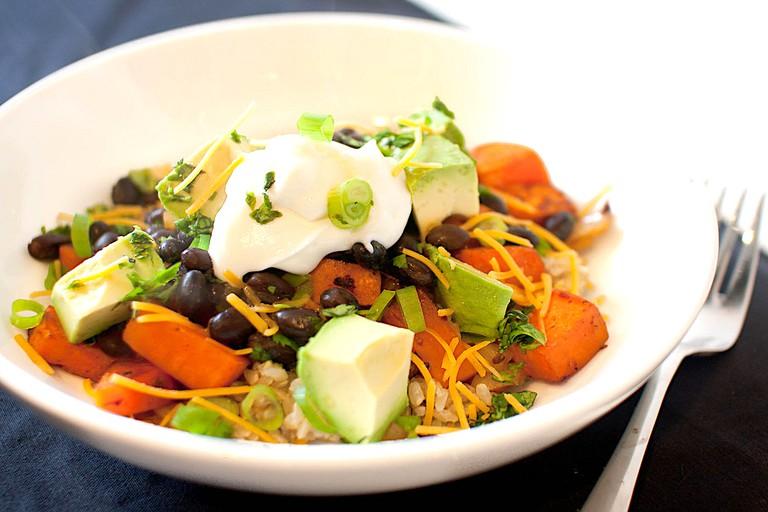 Smoky chipotle vegetarian bowl | © Bobbi Bowers/Flickr