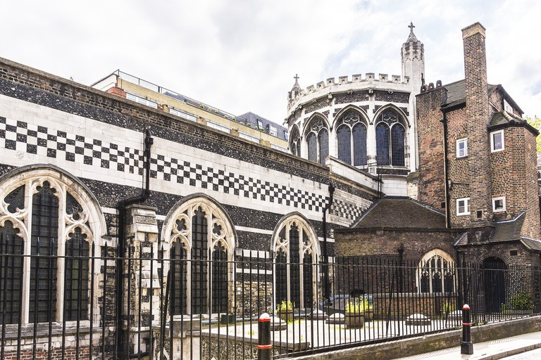 The Priory Church of St Bartholomew the Great (or Great St Barts) - Anglican church situated at West Smithfield in the City of London, UK  © Kiev.Victor/Shutterstock