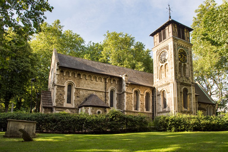 St Pancras Old Church in Camden, north London  © Joe Dunckley/Shutterstock