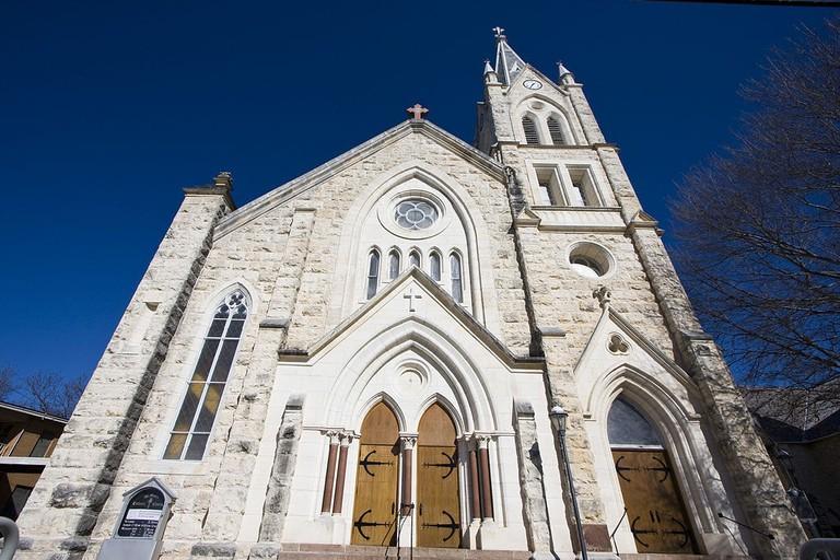 St. Mary's Catholic Church in Fredericksburg | © Pisi.de/WikiCommons