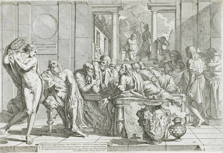 Plato's Symposium by Pietro Testa, 1648 © Ashley Van Haeften/Flickr