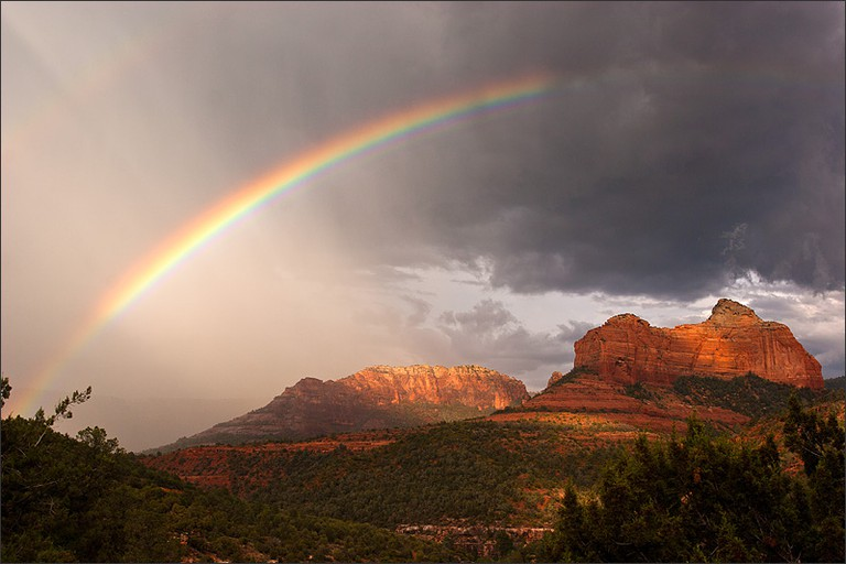 Sedona rainbow © Stacey Egan/Flickr