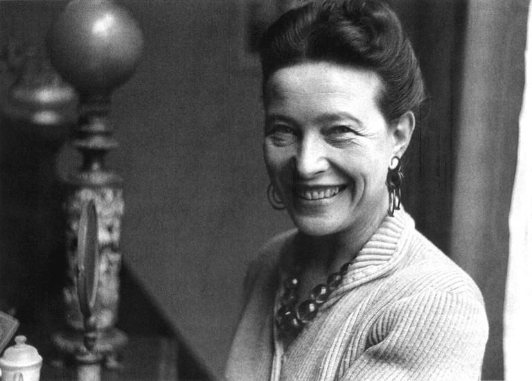Simone de Beauvoir © Pinterest