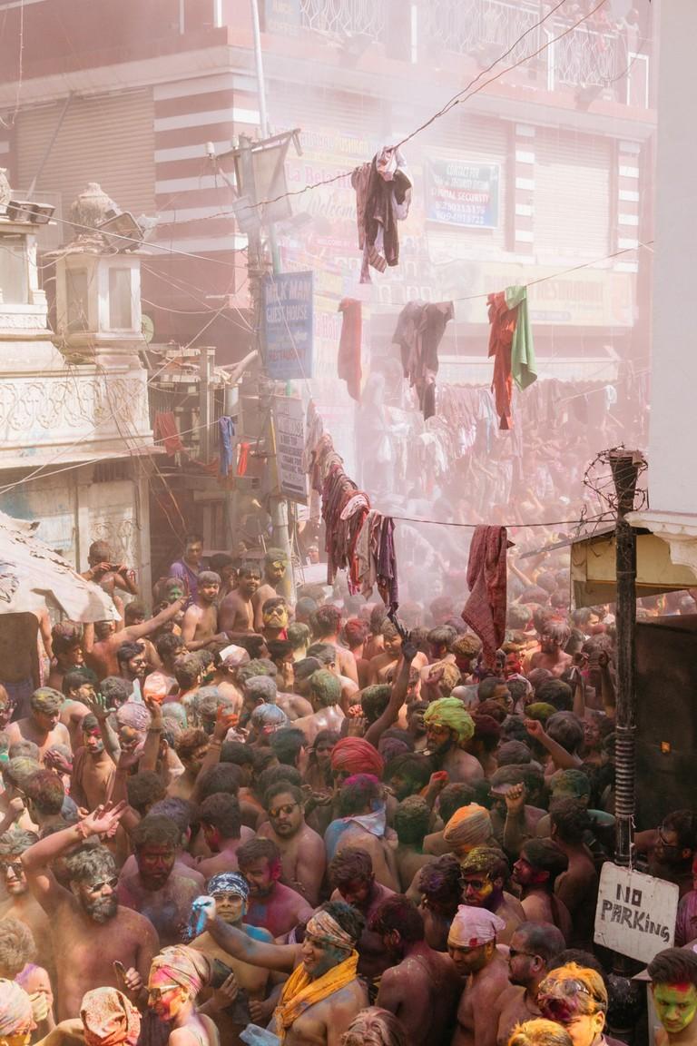 Holi Festival-Pushkar-India-Prakesh