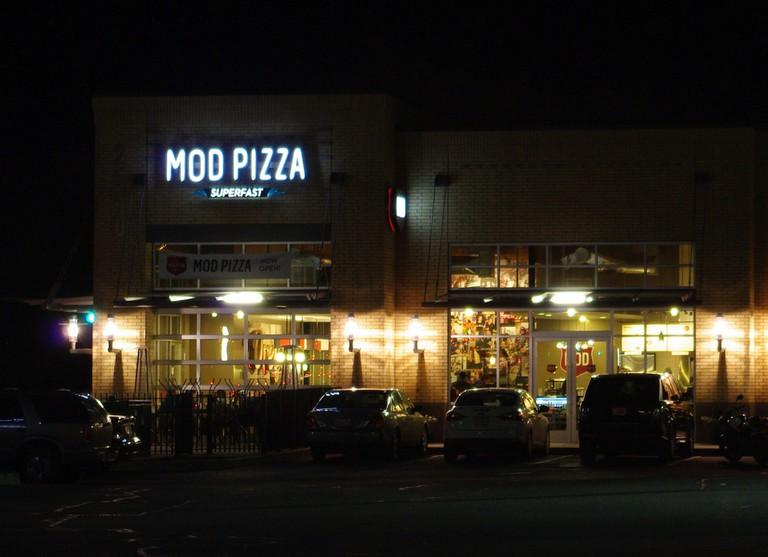 Mod Pizza, Oregon   © M.O. Stevens/WikiCommons