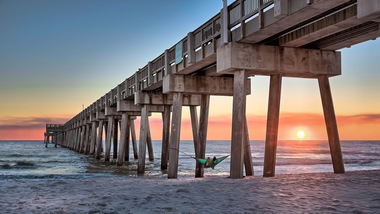 Virginia Beach at Sunset © Pexels
