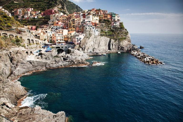 Manarola on the Cinque Terre coast, Italy
