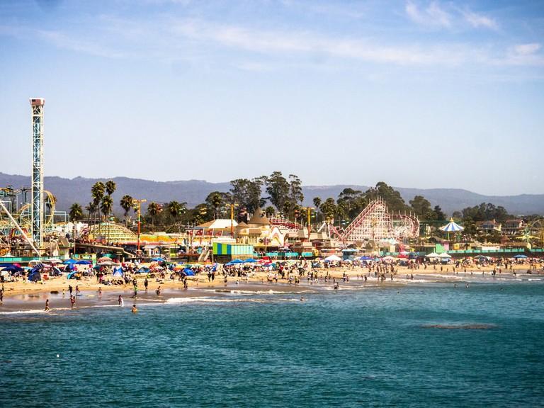 Amusement park in Santa Cruz, California