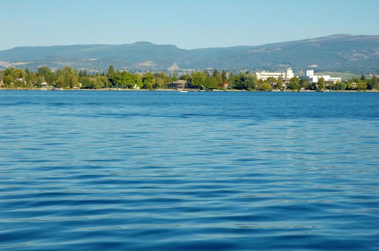 View of Okanagan Lake | © doviende/WikiCommons