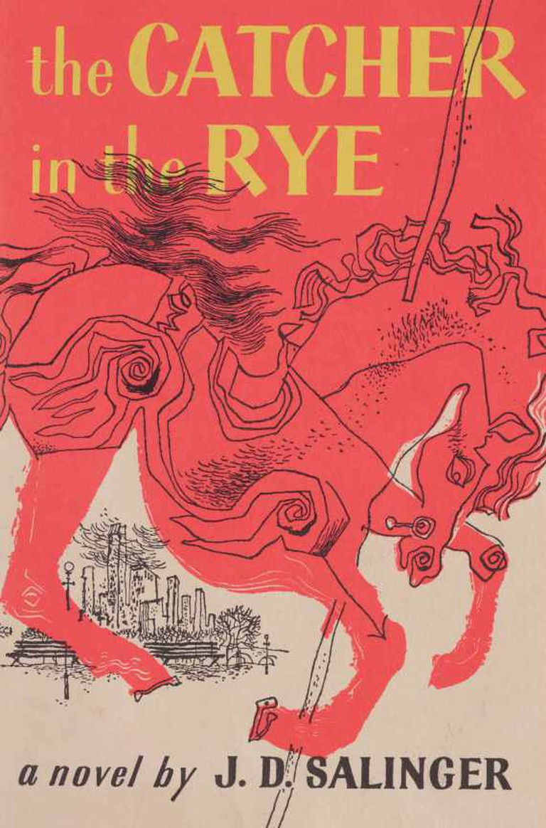 J.D. Salinger: 'The Catcher in the Rye'   Image Courtesy of Little, Brown and Company
