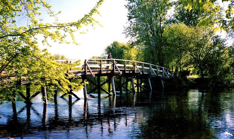 Old North Bridge, Concord Massachusetts| ©Phillip Capper/Flickr
