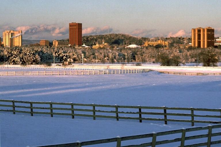 Winter Landscape, University of Massachusetts Amherst| ©Masstravel/Flickr