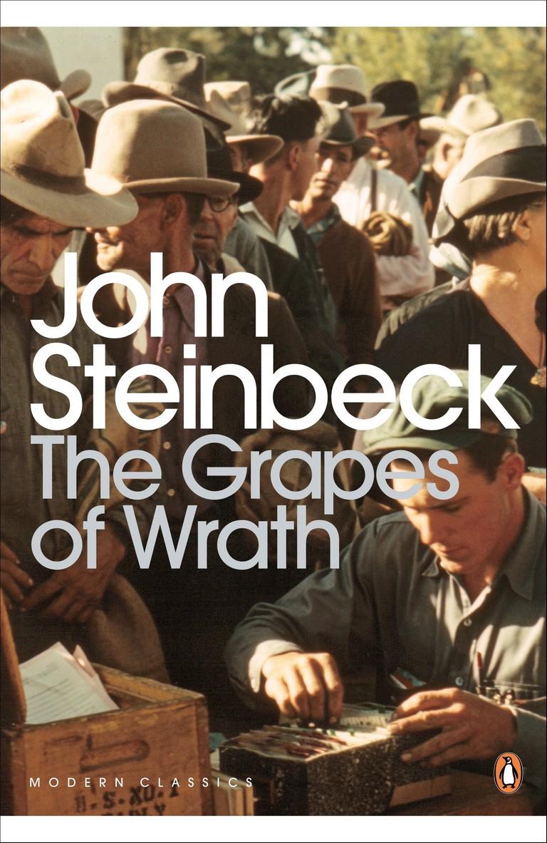 John Steinbeck: 'The Grapes of Wrath'   Image Courtesy of Penguin Modern Classics