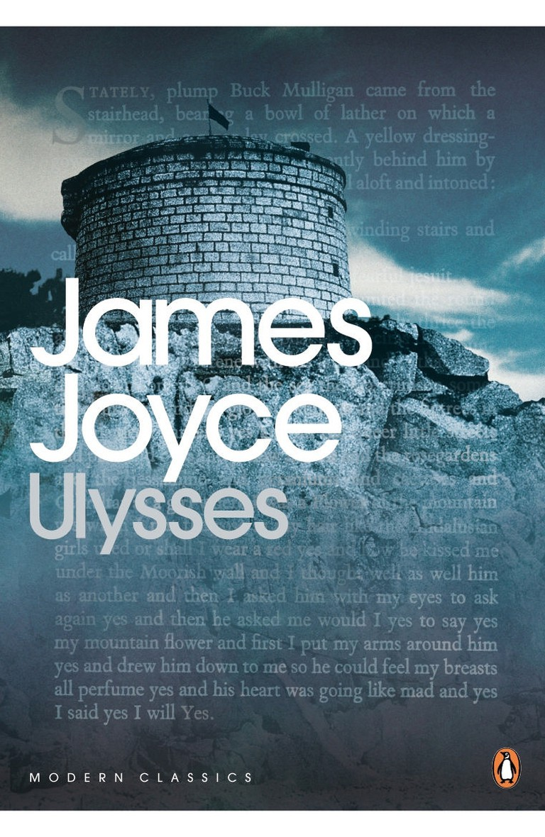 James Joyce: 'Ulysses'   Image Courtesy of Penguin Modern Classics
