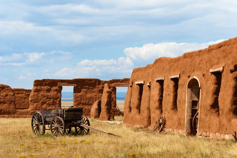 Fort Union National Monument in Old Santa Fe Trail in Trindad Colorado