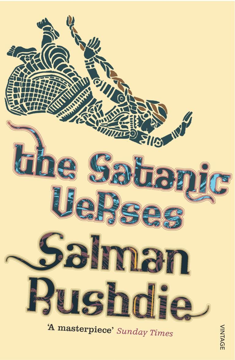 Salman Rushdie: 'The Satanic Verses'   Image Courtesy of Vintage Classics