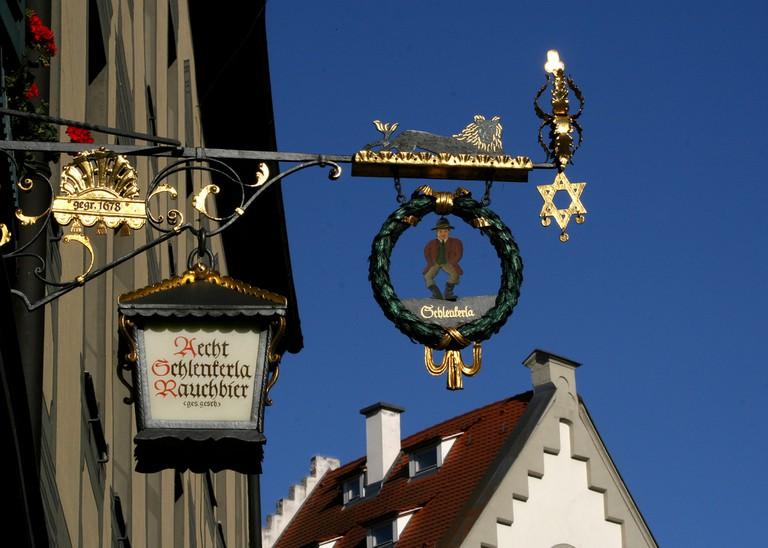 Schlenkerla Brewery sign  ©Graham Fellows/Flickr