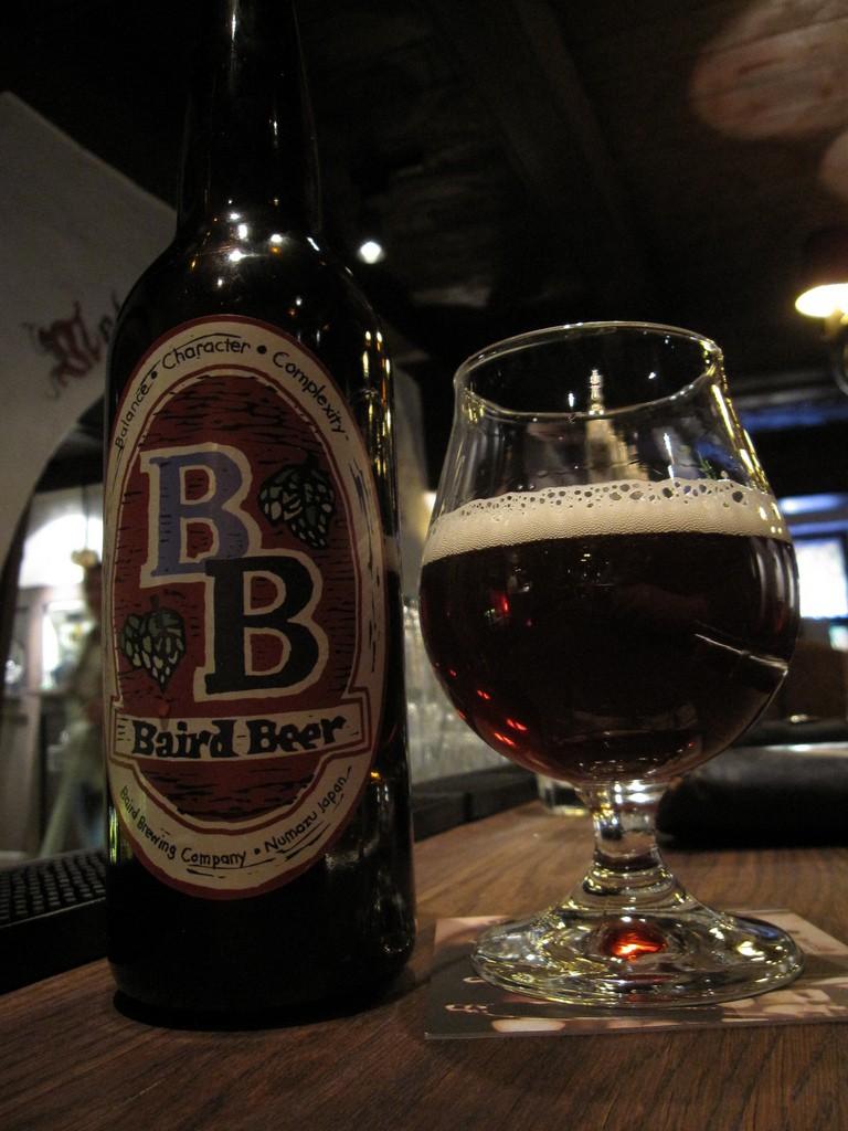 Baird Brewing Company, Dark Wheat Ale | ©Bernt Rostad/Flickr