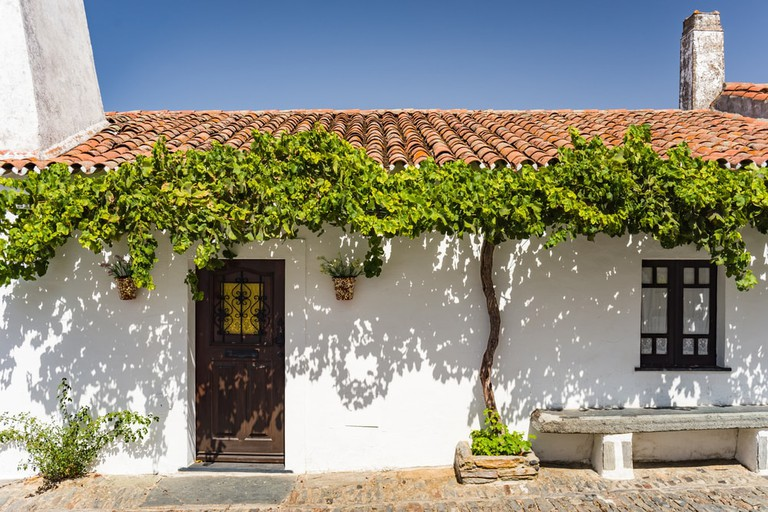 Typical Portuguese house in Monsaraz