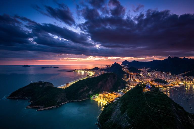 Rio de Janeiro City From the Sugarloaf Mountain © Donatas Dabravolskas / Shutterstock