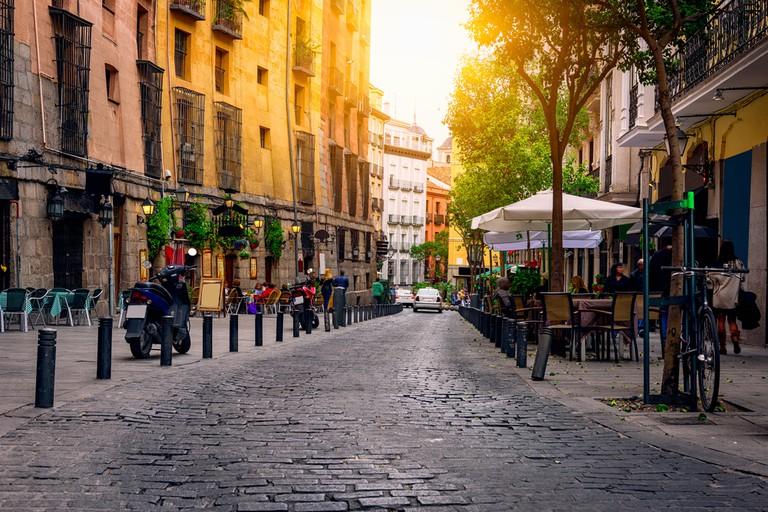 Old street in Madrid, Spain | © Catarina Belova/Shutterstock