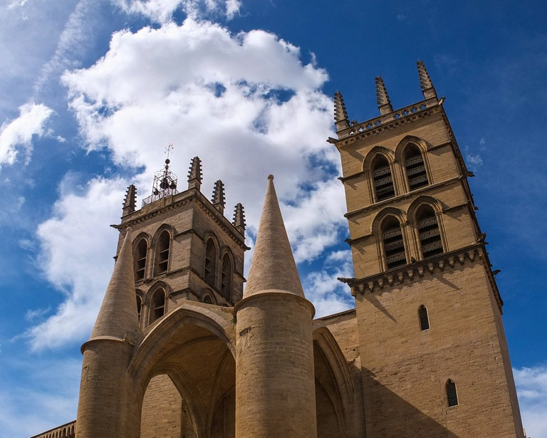 Montpellier's Cathedral © Mary Jo