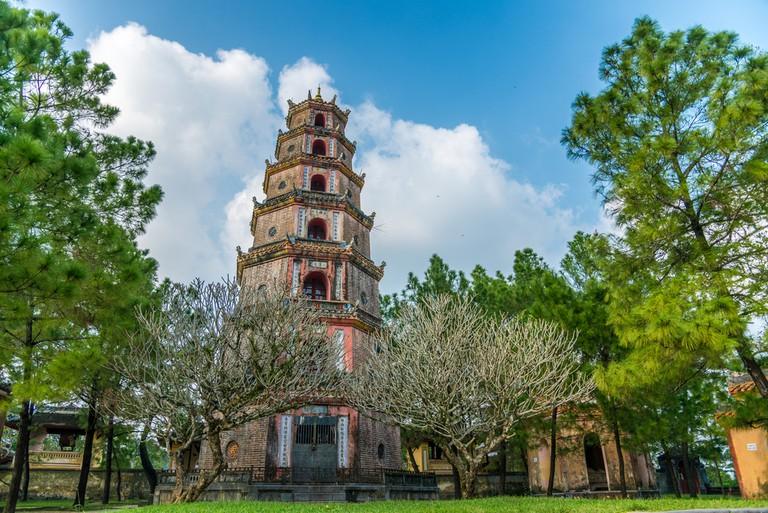 Thien Mu Pagoda. Unesco World Heritage Site. Hue. Vietnam © MielnickiStudio