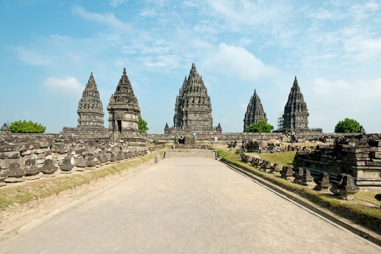 Prambanan Temple, in Yogyakarta, Indonesia ©Chris Howey