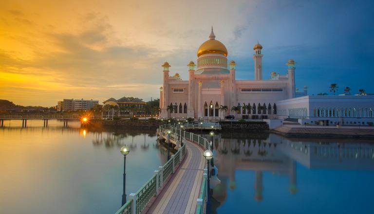 Sultan Omar Ali Saifuddin Mosque, Brunei ©Fitri Mohamad
