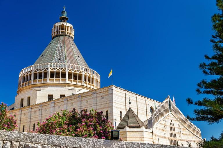 Basilica of the Annunciation, Nazareth, Israel | © Leonid Andronov/Shutterstock