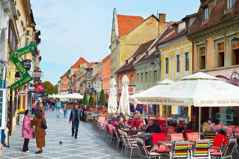 Brasov is a city in Romania and the administrative centre of Brasov County © joyfull / Shutterstock