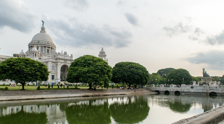 Victoria Memorial in Kolkata, West Bengal, India