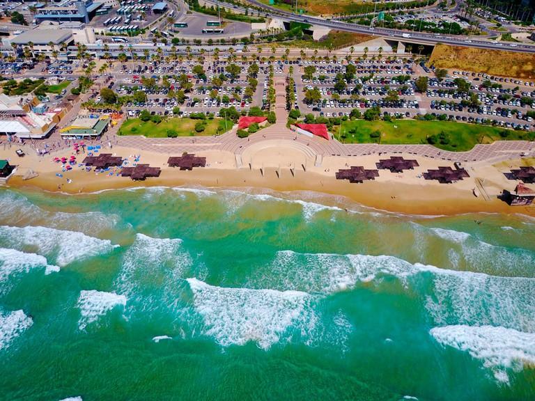 Haifa Beach, Israel | © sembler/Shutterstock