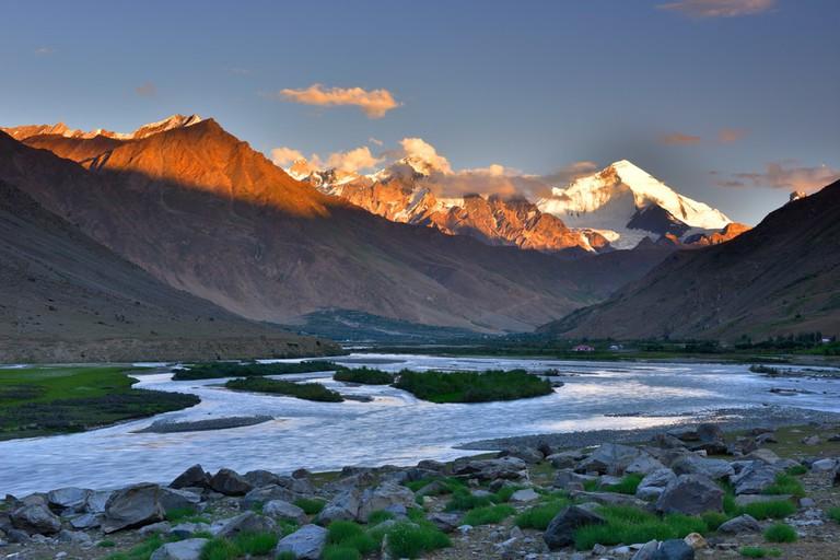 Ladakh in Jammu and Kashmir, India