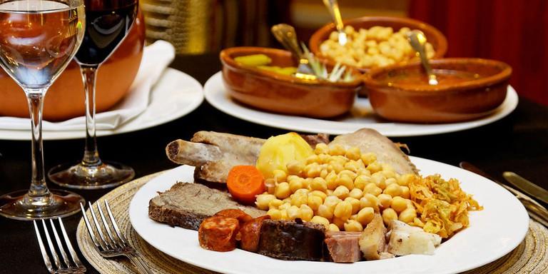 Cocido madrileño | Courtesy of GastroVia 61