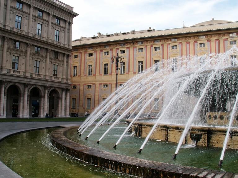 Genoa's Palazzo Ducale © Pedro